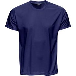 Camiseta Básica Unissex Azul Marinho - 4066 - JR Confeções