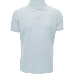 Camisa Polo Masculina Cinza Claro - 4097 - JR Confeções
