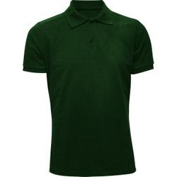 Camisa Polo Masculina Verde Musgo - 4097 - JR Confeções