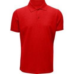 Camisa Polo Masculina Vermelha - 4097 - JR Confeções