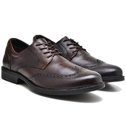 Sapato Masculino Derby - Toro 9200 - Café - Kauany Calçados