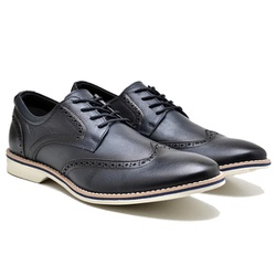 Sapato- Social- oxfort-Couro- Naturally- marinho-92