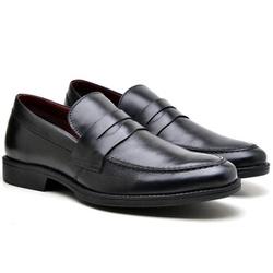 Sapato Masculino Loafer Couro Kauany - 9400 LOA PR... - Kauany Calçados