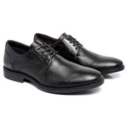 Sapato Masculino Derby - Toro 9001 - Preto - Kauany Calçados