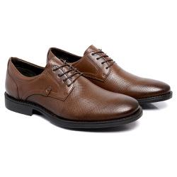 Sapato Masculino Derby - 9001 Café Toro - Kauany Calçados