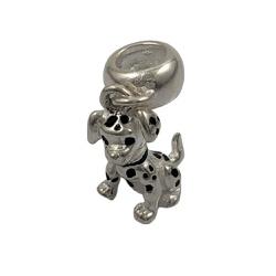 Berloque Cachorro em Prata 925