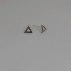 Brinco Triângulo em Prata 925