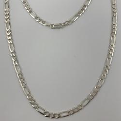 Corrente 3 em 1 de 5,1 mm em Prata 925
