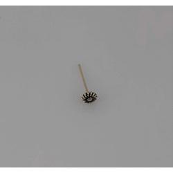 Piercing Flor para Furo em Prata 925