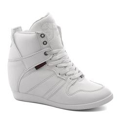 Tênis Sneaker LandFeet Cris Piza 02 Branco - LANDFEET