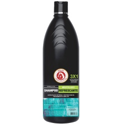Shampoo Brene Horse Mentolado 3x1 - 1 Litro