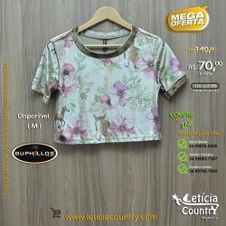 T Shirt Buphallos Feminina