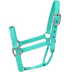 Cabresto para Cavalo Boots Horse Nylon Verde Água