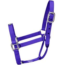 Cabresto para Cavalo Nylon Roxo Boots Horse
