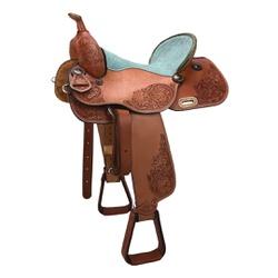 Sela de couro Três Tambores, Team Penning, Ranch S... - LETÍCIA COUNTRY IMPORT'S