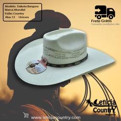 Chapéu Mundial Dakota Bangora Branco