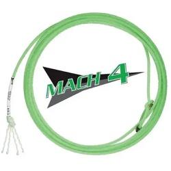 Corda Fast Back Mach 4 4 Tentos XS31 Cabeça para Laço em Dupla