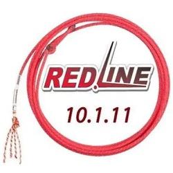 Corda Fast Back Red Line 4 Tentos MS31 Cabeça para Laço em Dupla