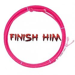 Corda Precision Finish Him 4 Tentos MS31 Cabeça para Laço em Dupla