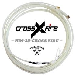 Corda Tomahawk Cross Fire 4 Tentos HM 35 PÉ para Laço em Dupla