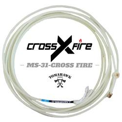 Corda Tomahawk Cross Fire 4 Tentos MS 31 Cabeça para Laço em Dupla