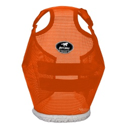 Máscara de Proteção para Cavalos Boots Horse Laranja