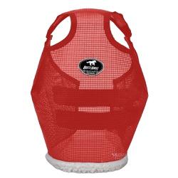 Máscara de Proteção para Cavalos Boots Horse Vermelha