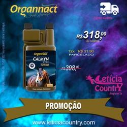 Calmyn Equi Turbo Organnact 4187 - 4187 - LETÍCIA COUNTRY IMPORT'S