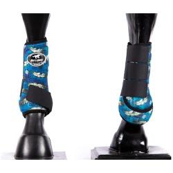 Boleteira Dianteira Estampada Boots Horse 4517 - 4... - LETÍCIA COUNTRY IMPORT'S