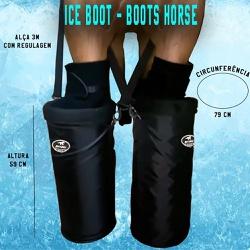 Ice Boot Preto Boots Horse