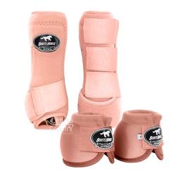Kit Dianteiro Cloche e Caneleiras Mellow Glow Boots Horse
