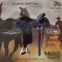 Sela Ranch Sorting, Team Penning, Couro Master Selas 5009