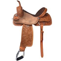 Sela de Couro Ranch Sorting, Team Penning Master Selas 3892