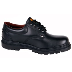 Sapato Adventure Preto Liso de Cano baixo. - 8600 - LOJA ALBARUS