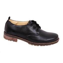 Sapato Social Confort Albarus na Cor Preta. - 8001 - LOJA ALBARUS