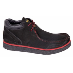 Sapato Adventure em Couro Nobuck Preto - 5700 - 57... - LOJA ALBARUS