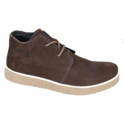 Sapato Adventure Camurça Marrom de amarrar - 8422 - LOJA ALBARUS