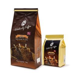 Kit de Café Celebrity Coffee - Torrado em Grãos 1K... - LOJACAFENOBRASIL