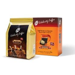 Kit de Café Celebrity Coffee - Torrado e Moído 250... - LOJACAFENOBRASIL
