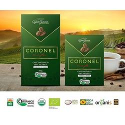 Café Coronel – Orgânico - Torrado e Moído - 500g... - LOJACAFENOBRASIL