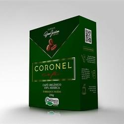 Café Coronel – Orgânico - Torrado e Moído - 250g... - LOJACAFENOBRASIL