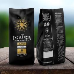 Café Excelência - de Araxá - Café Gourmet Moagem M... - LOJACAFENOBRASIL