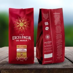 Café Excelência - de Araxá - Café Superior torrado... - LOJACAFENOBRASIL