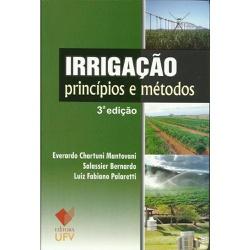 Irrigação Princípios e Métodos 3ª Edição - LOJACAFENOBRASIL