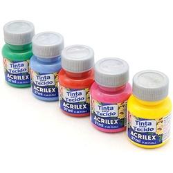 Tinta Para Tecido Acrilex Fosca 37 Ml. - Ac37 - Loja da Márcia Spassapan | Tudo para Artesanato