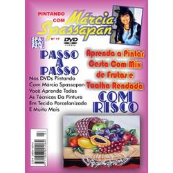 DVD Pintando Com Marcia Spassapan Edição Nº17 - Ce... - Loja da Márcia Spassapan | Tudo para Artesanato