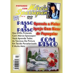 DVD Pintando Com Marcia Spassapan Edição Nº15 - Ig... - Loja da Márcia Spassapan | Tudo para Artesanato