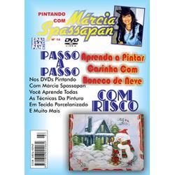 DVD Pintando Com Marcia Spassapan Edição Nº14 - Ca... - Loja da Márcia Spassapan | Tudo para Artesanato