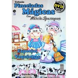 DVD DUPLO Coleção Pinceladas Mágicas Edição 6 com ... - Loja da Márcia Spassapan | Tudo para Artesanato