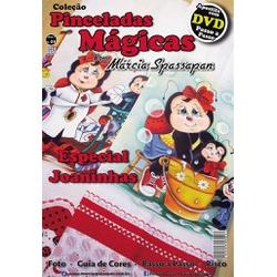 DVD DUPLO Coleção Pinceladas Mágicas Edição 4 com ... - Loja da Márcia Spassapan | Tudo para Artesanato